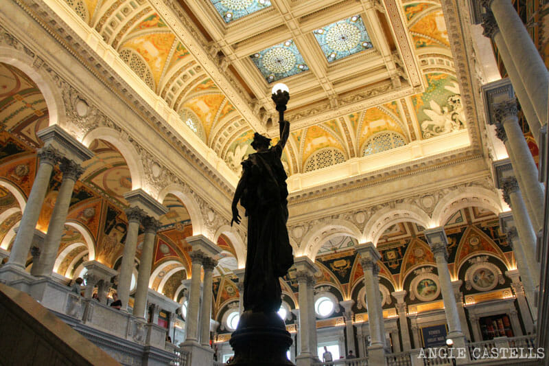 Guia Washington DC Que ver Excursion desde Nueva York Library of Congress