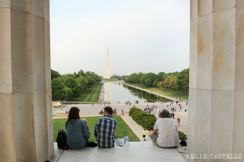 Guia Washington DC Que ver Excursion desde Nueva York Lincoln Monument