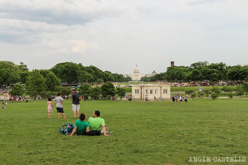 Guia Washington DC Que ver Excursion desde Nueva York Mall Capitolio