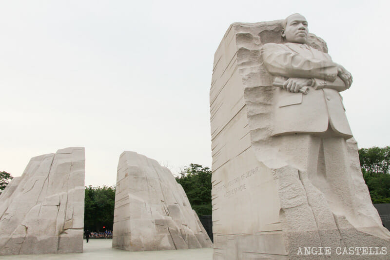 Guia Washington DC Que ver Excursion desde Nueva York Martin Luther King Monument