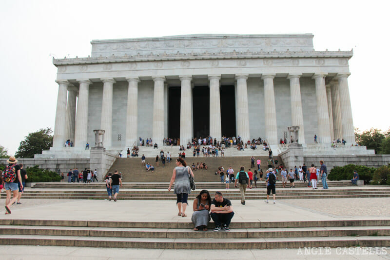 Guia Washington DC Que ver Excursion desde Nueva York Monumento a Lincoln