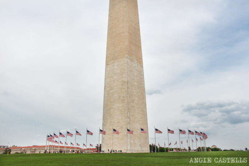 Guia Washington DC Que ver Excursion desde Nueva York Washington Monument