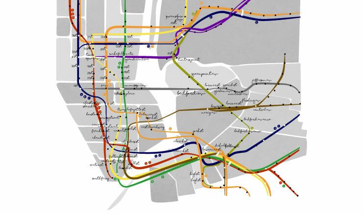 Cosas que te pasarán en Nueva York metro