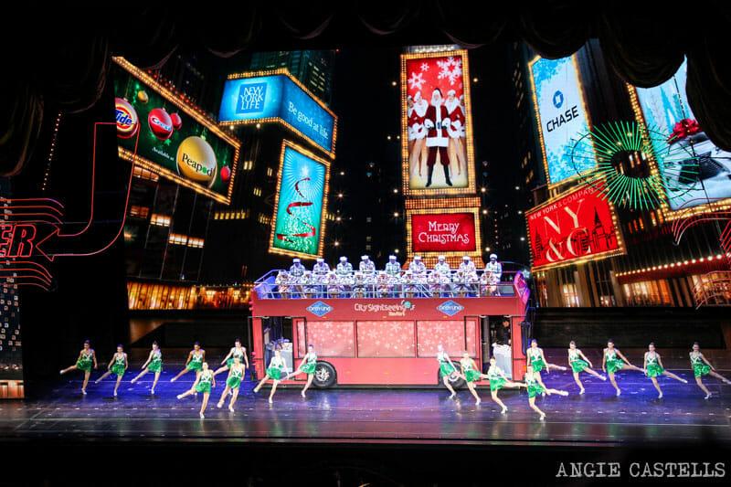 Rockettes Navidades Nueva York Radio City Music Hall